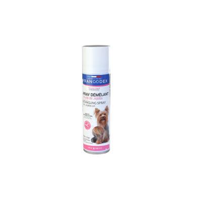 Spray despieptanat cu ulei de jojoba pt. blana caine