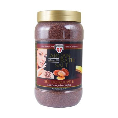 Arganowa sól do kąpieli