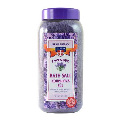 Lawendowa sól do kąpieli