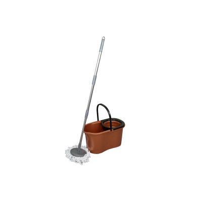 Zestaw do sprzątania z obrotowym mopem