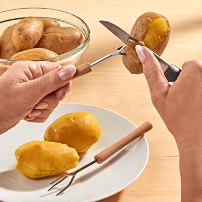 2 vidličky na vařené brambory