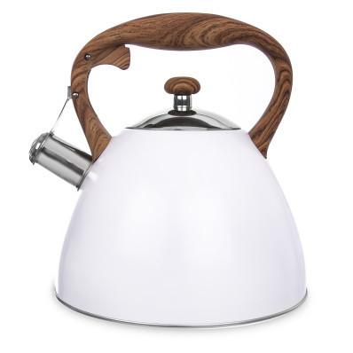 Rozsdamentes acél teafőző WOODEN 3,5 l