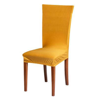 Jednokolorowy pokrowiec na krzesło