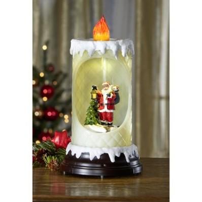 Świąteczna świeca LED