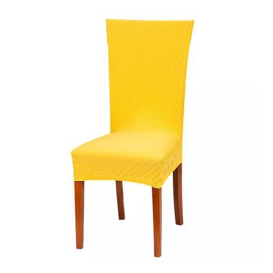 Pokrowiec na krzesło w kratkę