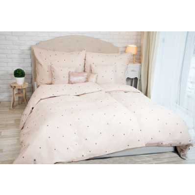 Lenjerie de pat din bumbac cu buline