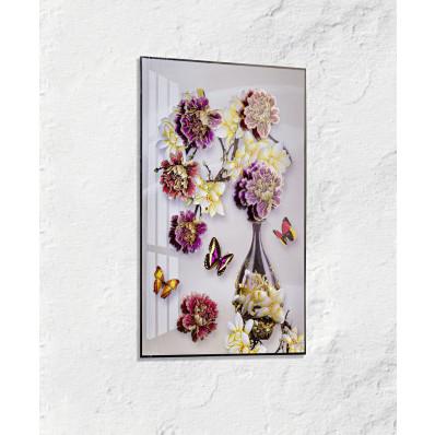 """Obrázok na okno """"Váza s kvetinami"""""""
