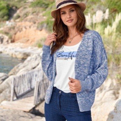 Široký sveter, ekologické spracovanie