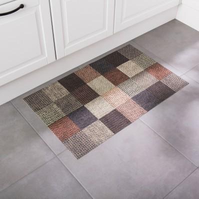 Vinylový koberec s efektem kostky