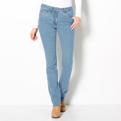 Rovné džíny, vyšší postava