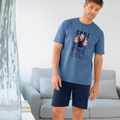 Pyžamo so šortkami Pepek námorník