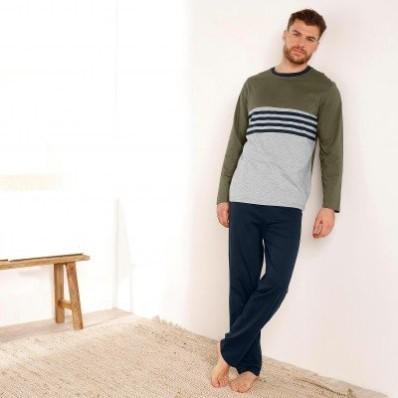 Pyžamové nohavice, námornícky modré