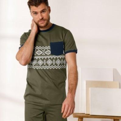 Pyžamové tričko s krátkými rukávy
