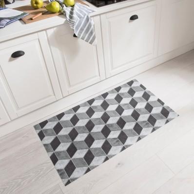 Vinylový koberec, efekt 3D