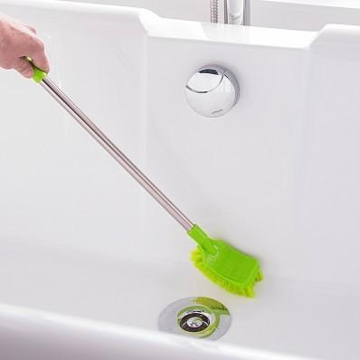 Špeciálna kefa na čistenie kúpeľne
