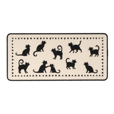 Kuchyňský kobereček kočky