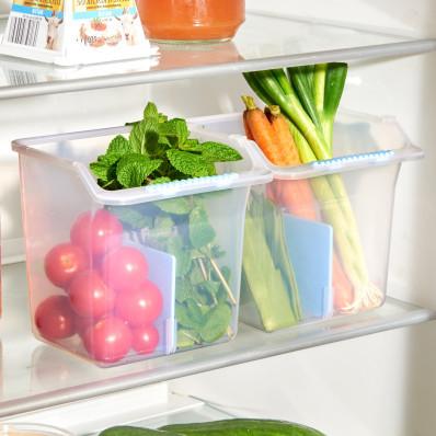2 boxy do chladničky na ovocie a zeleninu