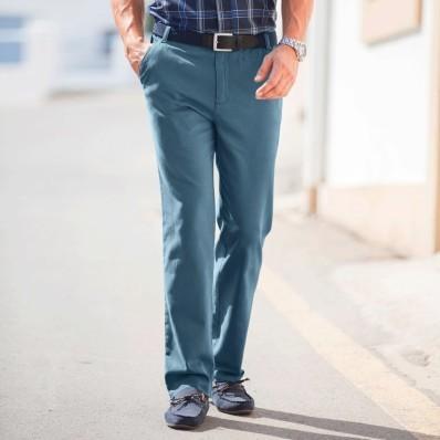 Kalhoty twillové bez záševků