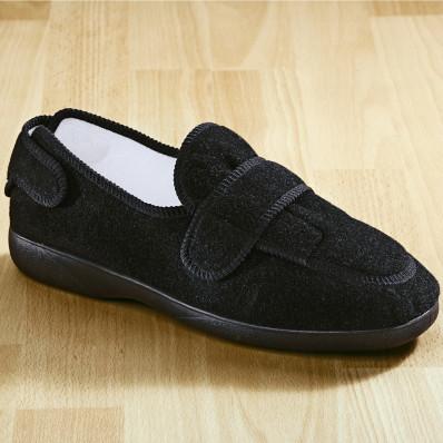 """Kényelmi cipő """"Meran"""" fekete színben"""