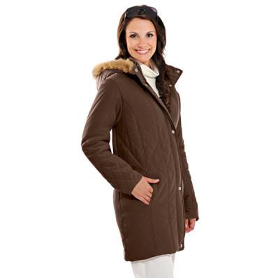 Prošívaný kabát Alaska