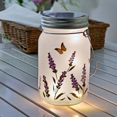 LED sklenené svietidlo