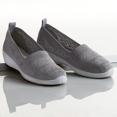 Materiałowe buty Josy