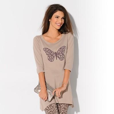 Tunika s motivem motýlka