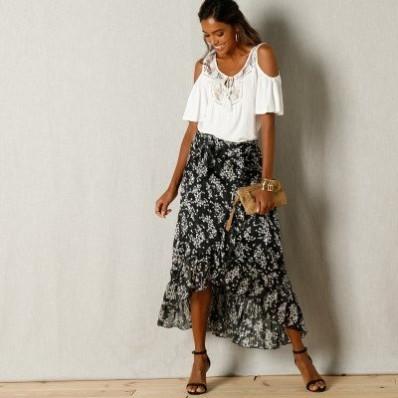 Puzdrová sukňa