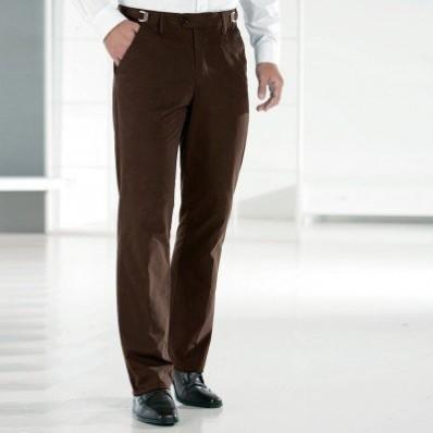 Kalhoty, 35% bavlna, nastavitelný pas