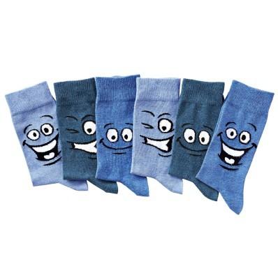 Veselé ponožky, sada 6 párů
