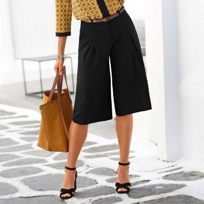 Dlhá nohavicová sukňa