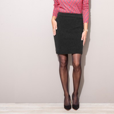 Pletená sukňa