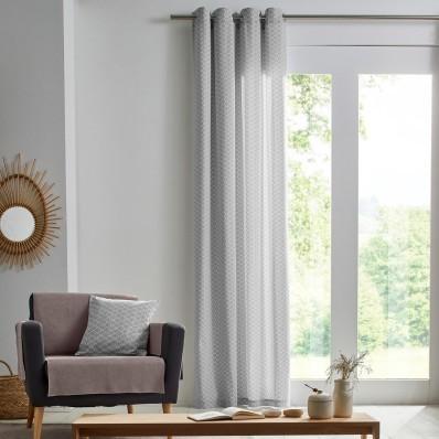 Záclona z bavlny s potlačou