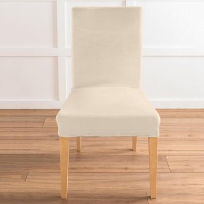 Bi-pružný poťah na stoličku s efektom ve
