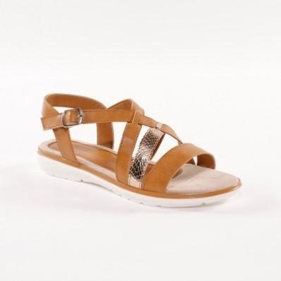Sandále s prekríženými remienkami