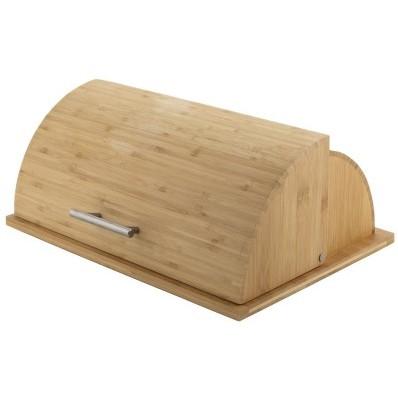 Nagyméretű bambusz kenyértartó