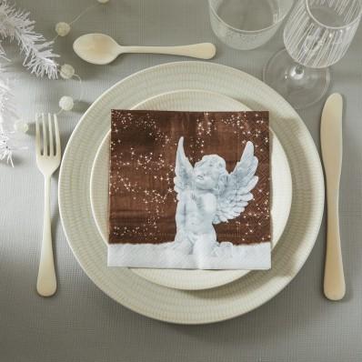 Papierové obrúsky anjel - sada 20 ks