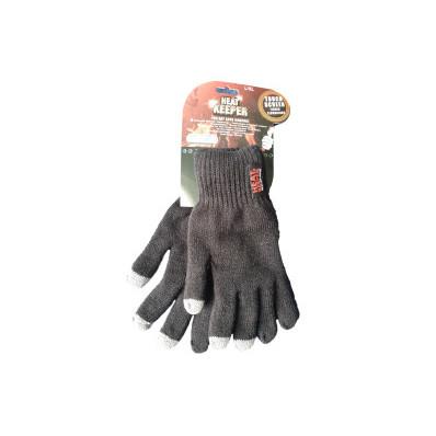 Elegantné a hrejivé pánské rukavice L/XL