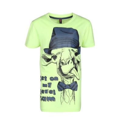 Chlapecké triko s žirafou Sam 73