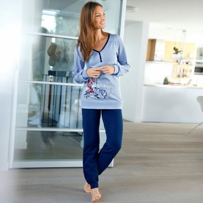 Pyžamo (tričko + kalhoty) Blanc Nacré