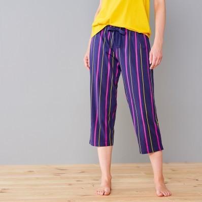 3/4 pyžamové kalhoty s proužky Estrella