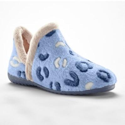 Velúrová vyššia obuv, plyšové vnútro