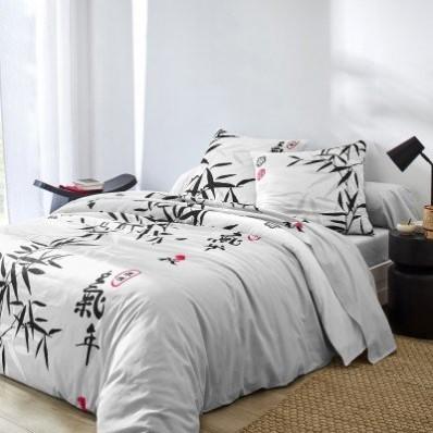 Posteľná bielizeň Bamboo s motívom bambusu, bavlna