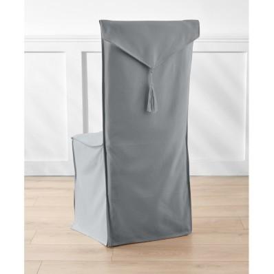 Poťah na stoličku z plátna bachette