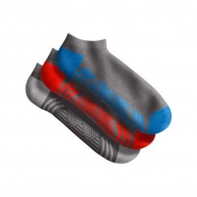 Sada 3 nízkých sportovních ponožek