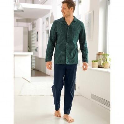 Pyžamové kalhoty, námořnicky modré