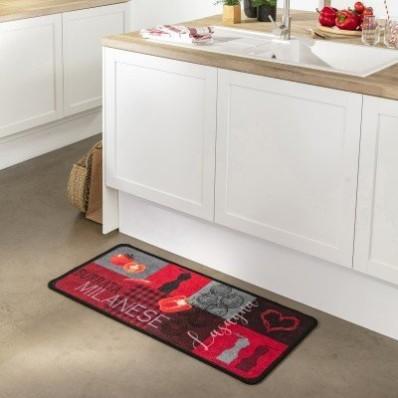 Kuchyňský koberec s motivem rajčat