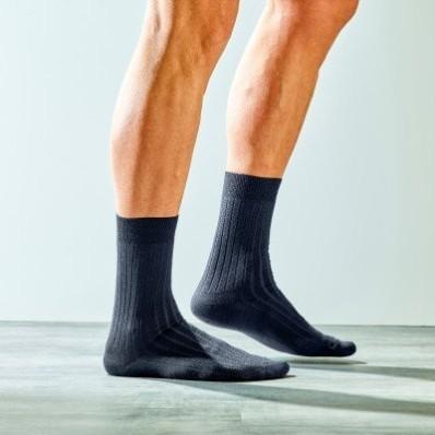 Sada 2 párů ponožek se 70% podílem vlny