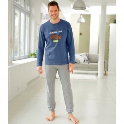 "Pyžamo s kalhotami a dlouhými rukávy, s potiskem ""Hibernation"""