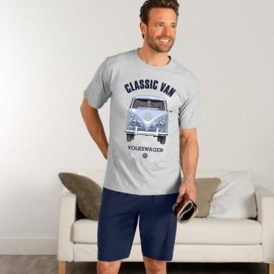 "Pyžamo ""Volkswagen"" s krátkými rukávy a šortkami"